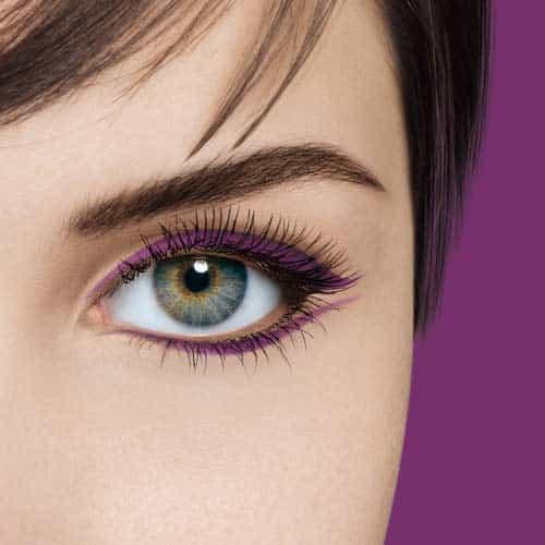 Comment réaliser un maquillage violet ? ️